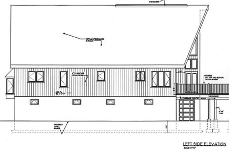 Cabin Exterior - Other Elevation Plan #3-227 - Houseplans.com