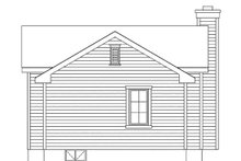 Dream House Plan - Cottage Exterior - Rear Elevation Plan #22-604