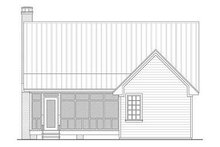 Farmhouse Exterior - Rear Elevation Plan #21-232