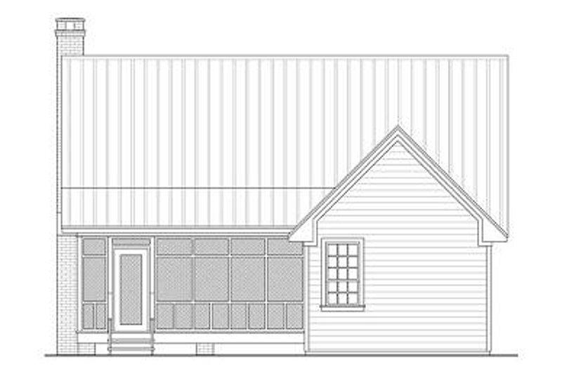 Farmhouse Exterior - Rear Elevation Plan #21-232 - Houseplans.com