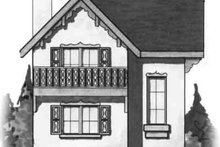 Cottage Exterior - Front Elevation Plan #23-461
