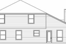 Architectural House Design - Traditional Exterior - Rear Elevation Plan #84-126