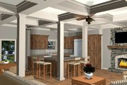 Craftsman Style House Plan - 4 Beds 3 Baths 1898 Sq/Ft Plan #56-710 Interior - Kitchen