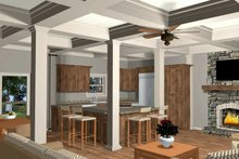 Craftsman Interior - Kitchen Plan #56-710