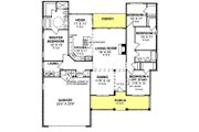 Traditional Style House Plan - 4 Beds 2 Baths 1958 Sq/Ft Plan #20-379 Floor Plan - Main Floor Plan