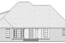 Dream House Plan - European Exterior - Rear Elevation Plan #21-281