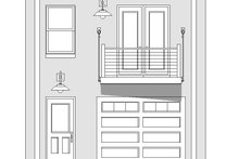 House Plan Design - Contemporary Exterior - Front Elevation Plan #932-126