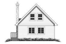 Contemporary Exterior - Rear Elevation Plan #18-294