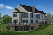 Craftsman Style House Plan - 5 Beds 4.5 Baths 5030 Sq/Ft Plan #1057-30