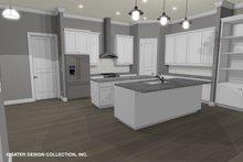 Dream House Plan - Contemporary Interior - Kitchen Plan #930-521