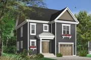 Traditional Style House Plan - 3 Beds 2 Baths 1584 Sq/Ft Plan #23-671