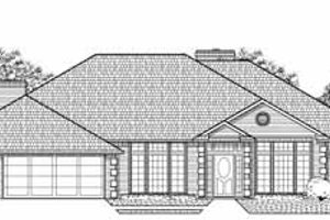 Traditional Exterior - Front Elevation Plan #65-125