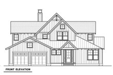 House Plan Design - Farmhouse Exterior - Front Elevation Plan #1070-3