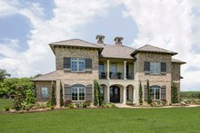 Home Plan - Mediterranean Exterior - Front Elevation Plan #930-276
