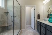 Craftsman Style House Plan - 3 Beds 2 Baths 1747 Sq/Ft Plan #929-1038 Interior - Master Bathroom