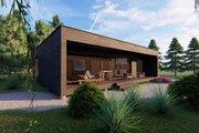 Modern Style House Plan - 2 Beds 1 Baths 890 Sq/Ft Plan #549-34