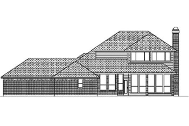 Traditional Exterior - Rear Elevation Plan #84-389 - Houseplans.com