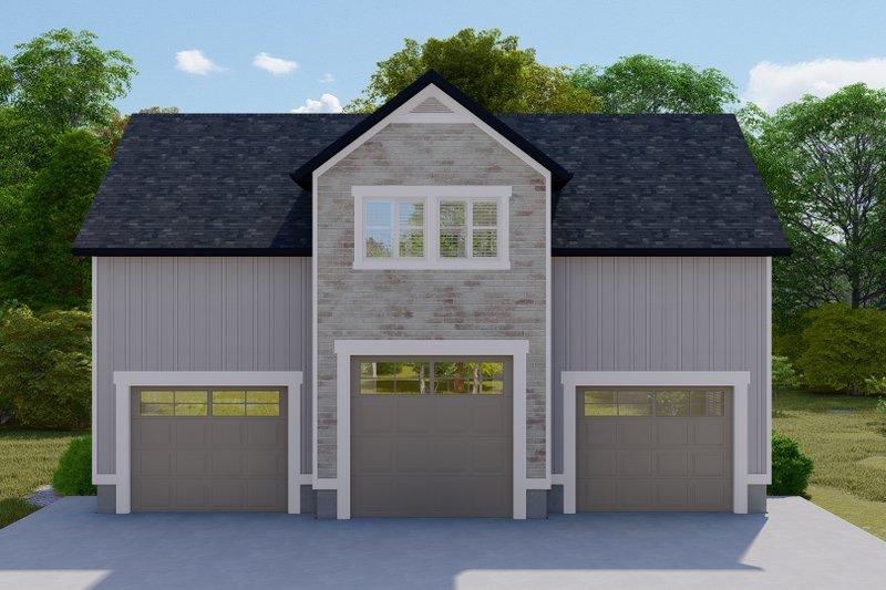 House Plan Design - Farmhouse Exterior - Front Elevation Plan #1060-110