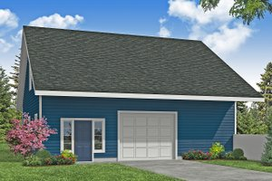 Dream House Plan - Traditional Exterior - Front Elevation Plan #124-1181