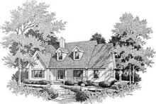 Home Plan - Farmhouse Exterior - Front Elevation Plan #14-231