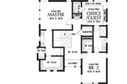 Contemporary Style House Plan - 4 Beds 3.5 Baths 3008 Sq/Ft Plan #48-656