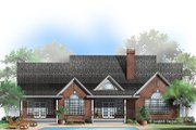 Country Style House Plan - 3 Beds 2.5 Baths 2636 Sq/Ft Plan #929-354 Exterior - Rear Elevation
