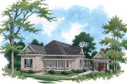 Traditional Style House Plan - 3 Beds 2.5 Baths 2480 Sq/Ft Plan #45-336 Exterior - Front Elevation