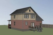 House Plan Design - Farmhouse Exterior - Other Elevation Plan #79-257