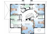 European Style House Plan - 5 Beds 3.5 Baths 3251 Sq/Ft Plan #23-836 Floor Plan - Upper Floor
