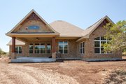 Craftsman Style House Plan - 3 Beds 3 Baths 2847 Sq/Ft Plan #120-172 Exterior - Rear Elevation