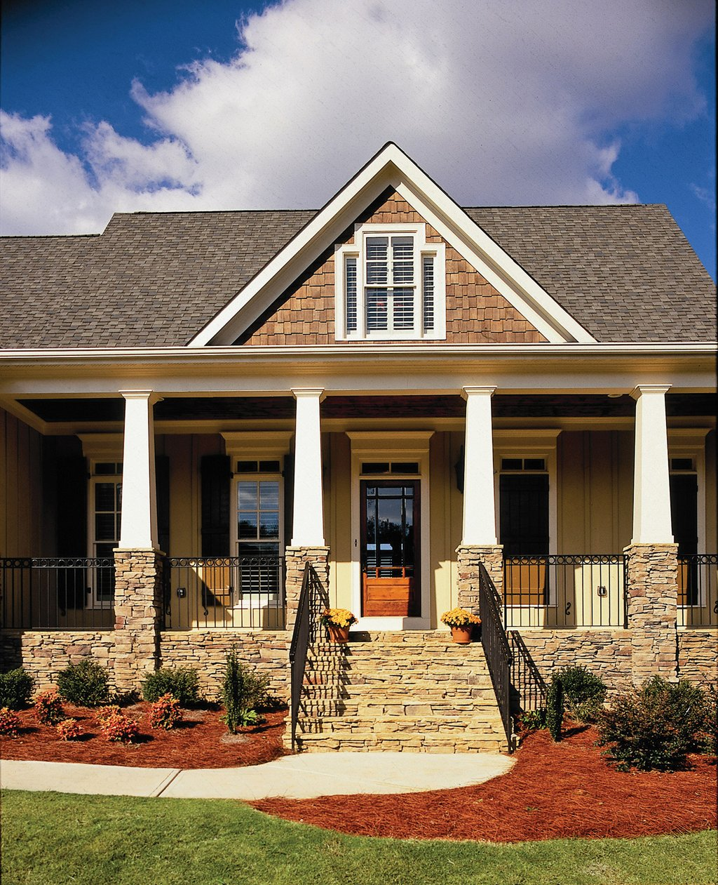 house plans country style country style house plan 3 beds 2 5 baths 2182 sq ft 18500