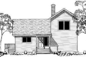 Traditional Exterior - Front Elevation Plan #303-309