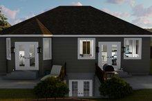 House Plan Design - Ranch Exterior - Rear Elevation Plan #1060-5