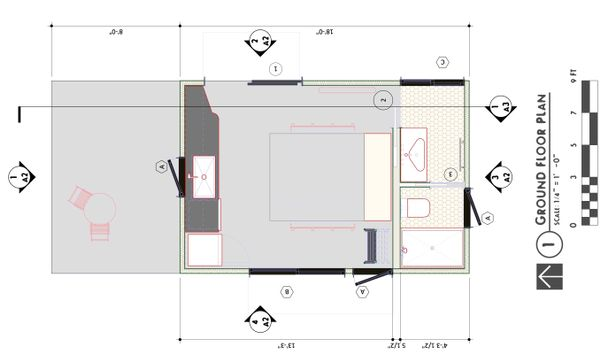 Modern Floor Plan - Main Floor Plan #450-8