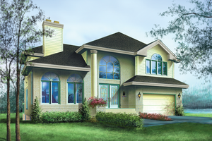 Traditional Exterior - Front Elevation Plan #25-2212