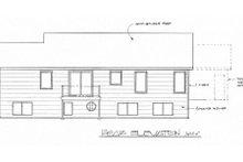 Traditional Exterior - Rear Elevation Plan #58-191