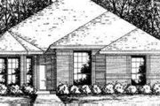Traditional Style House Plan - 3 Beds 2 Baths 1182 Sq/Ft Plan #40-281 Exterior - Front Elevation