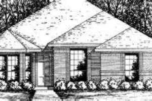 Traditional Exterior - Front Elevation Plan #40-281