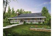 Farmhouse Style House Plan - 3 Beds 2 Baths 1514 Sq/Ft Plan #47-647