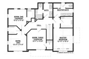 Traditional Style House Plan - 5 Beds 3.5 Baths 4834 Sq/Ft Plan #928-349