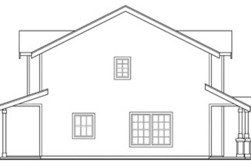 Craftsman Exterior - Other Elevation Plan #124-812 - Houseplans.com