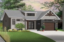 Craftsman Exterior - Front Elevation Plan #23-2305