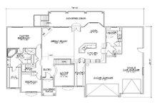 Traditional Floor Plan - Main Floor Plan Plan #5-269