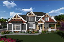 Dream House Plan - Craftsman Exterior - Front Elevation Plan #70-1279