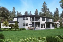 House Plan Design - Contemporary Exterior - Other Elevation Plan #1066-73