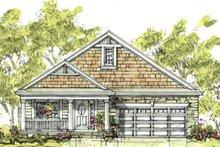 Cottage Exterior - Front Elevation Plan #20-1207