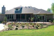 House Plan Design - European Exterior - Rear Elevation Plan #17-628