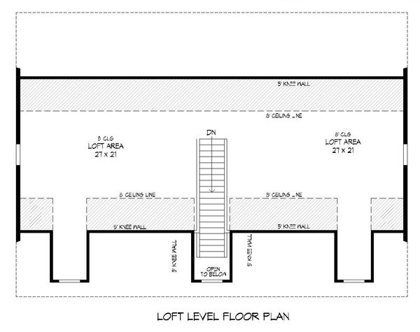Architectural House Design - Country Floor Plan - Upper Floor Plan #932-221