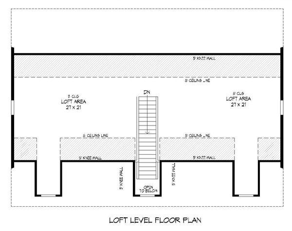Architectural House Design - Country Floor Plan - Upper Floor Plan #932-221