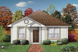 Traditional Exterior - Front Elevation Plan #84-157